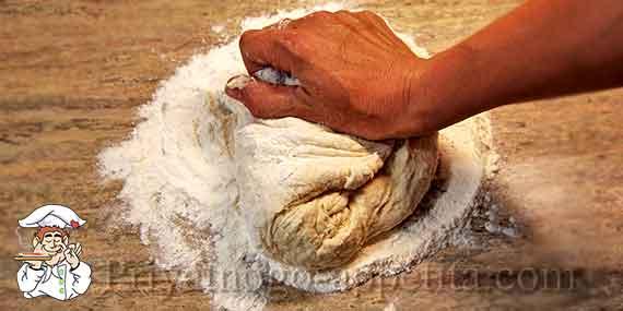 Тесто на пельмени что не прилиполо к рукам