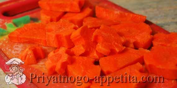 морковные звездочки