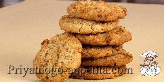 Овсяное печенье на маргарине рецепт