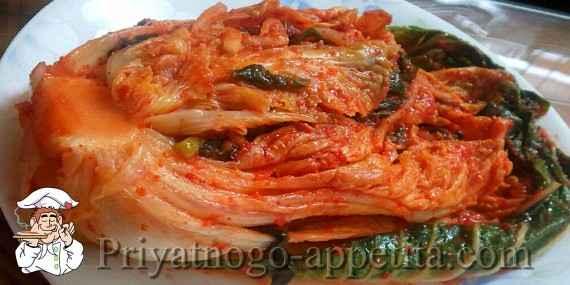 Рецепт Кимчи
