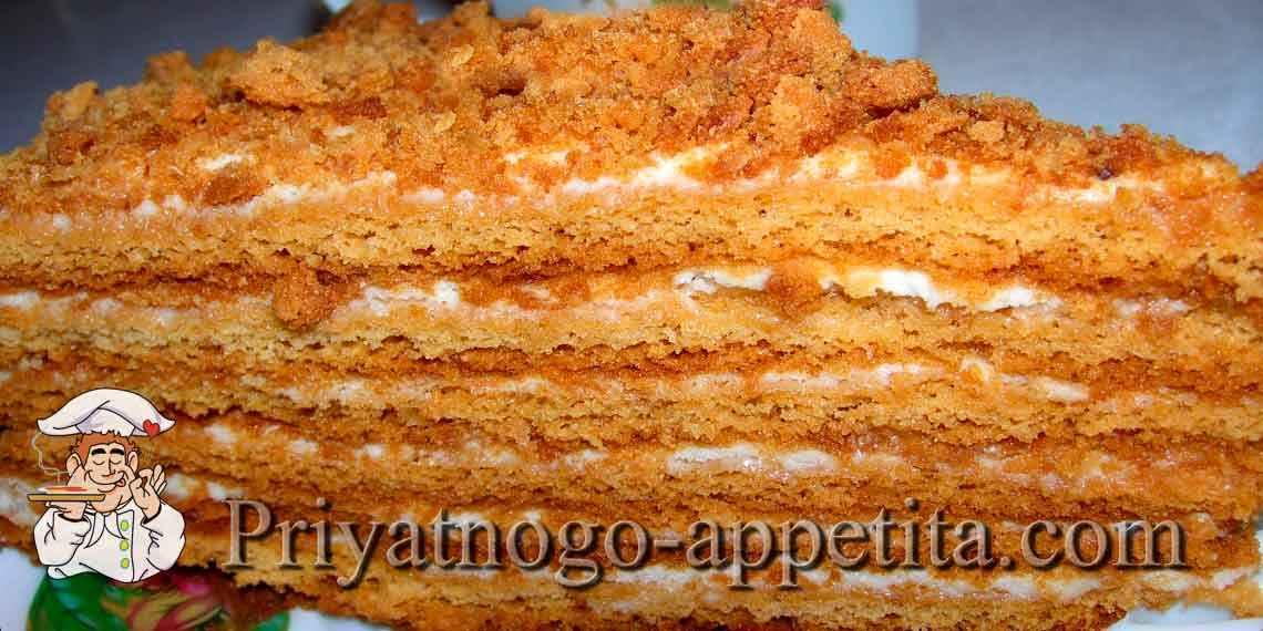 Рецепты кремов для торта медовика