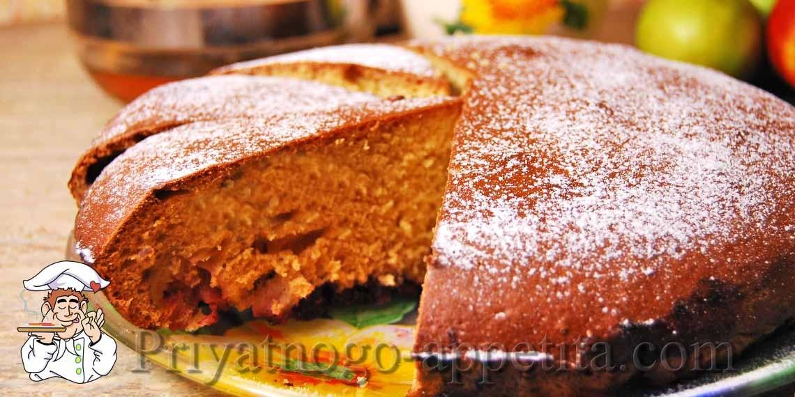 Фото рецепт вкусного пирога на кислом молоке