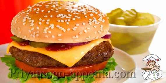 Рецепт чизбургера