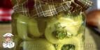 Заготовки из переросших огурцов
