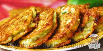 Рецепт кабачковых оладий