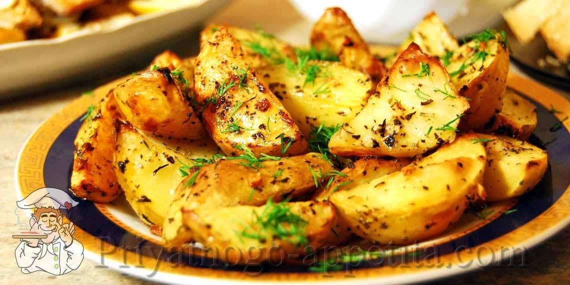 Картошка круглая в духовке рецепт пошагово