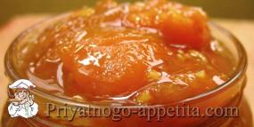Абрикосово-апельсиновое варенье