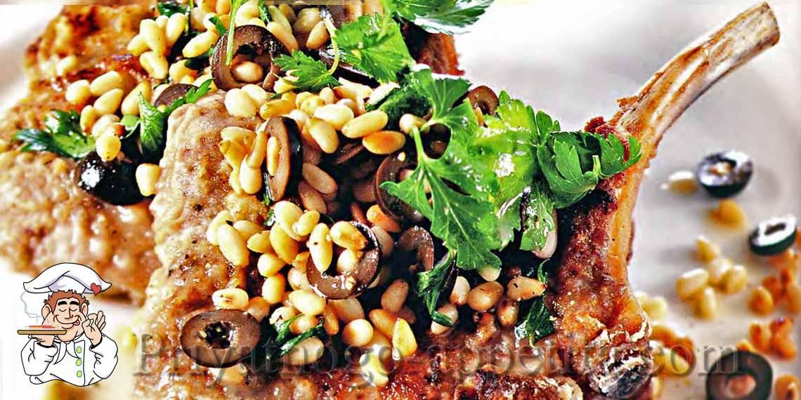 Салат с кедровыми орешками и говядиной картинки
