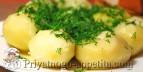 Отварной картофель