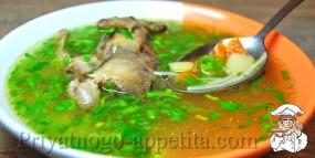 Суп с перепелкой