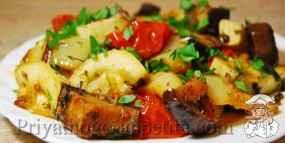 Диетические тушеные овощи