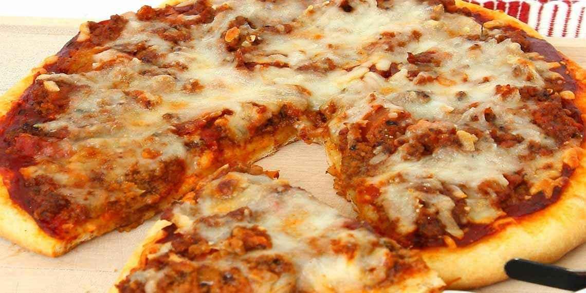 Рецепт пиццы в домашних условиях в духовке без помидоров 30