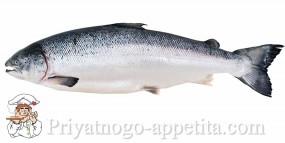 Разделка лосося