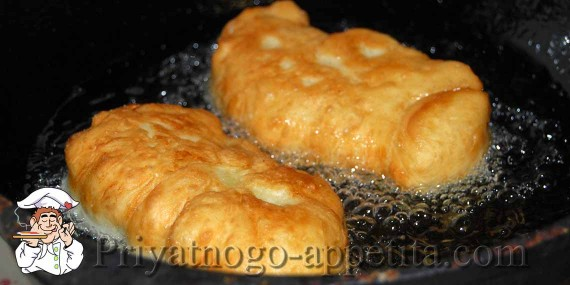 Дрожжевое тесто для жареных пирожков