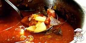 Суп из грудинки