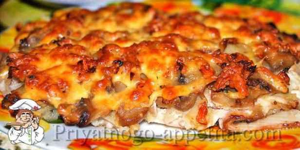 Скумбрия с сыром запеченная в духовке