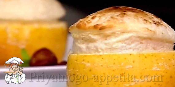 Яблочное суфле