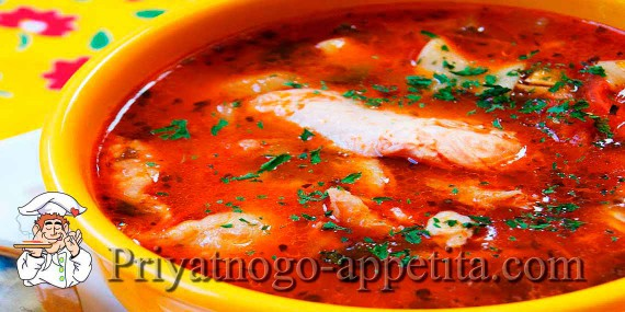 Суп-харчо с курицей