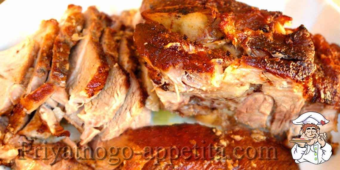 Есть кусок свинины что приготовить