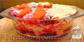 Овощной тортик
