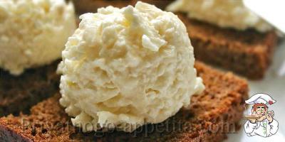 Закуска сыр с чесноком
