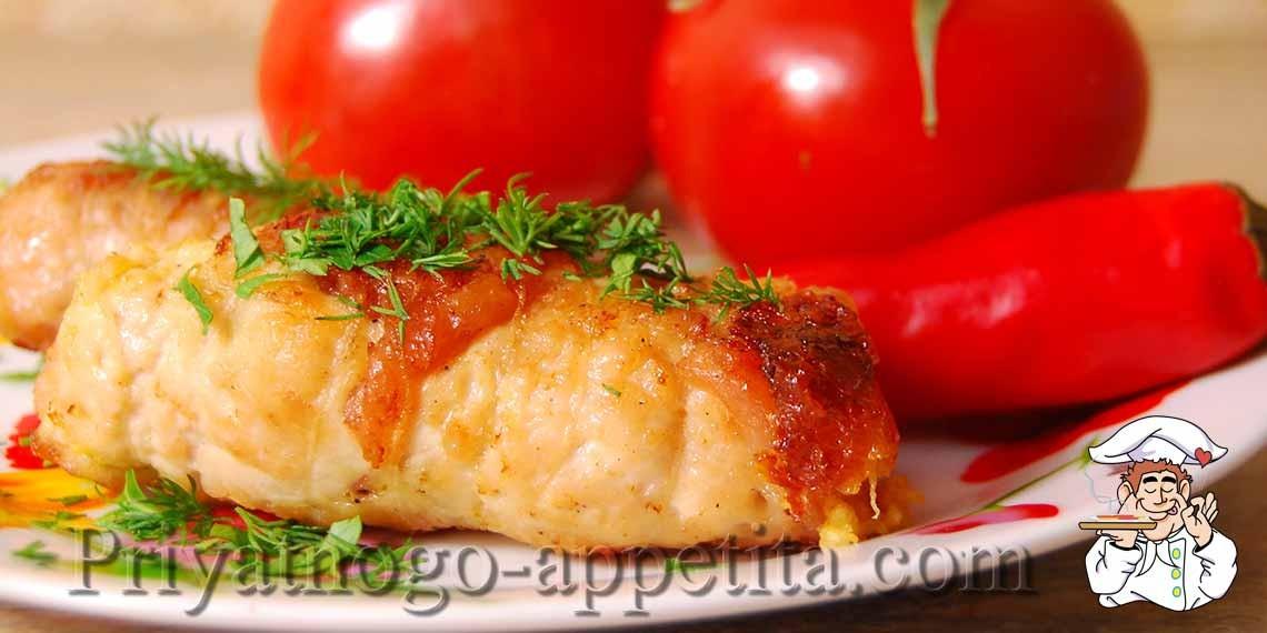 Как приготовить куриные рулетики с сыром с