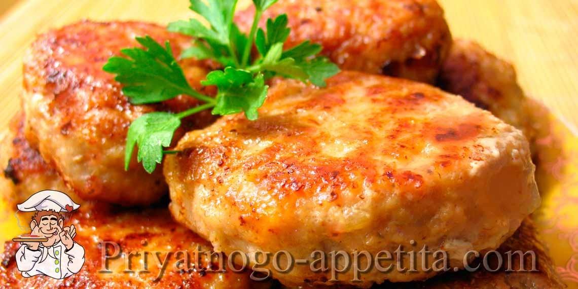 котлетки из свинины рецепт с фото