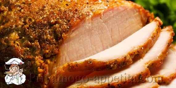 Свиная вырезка в духовке