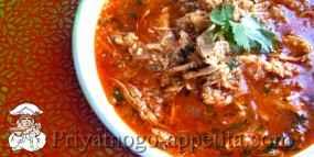 Суп с кускусом и курицей