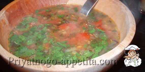 Щи с килькой в томатном соусе