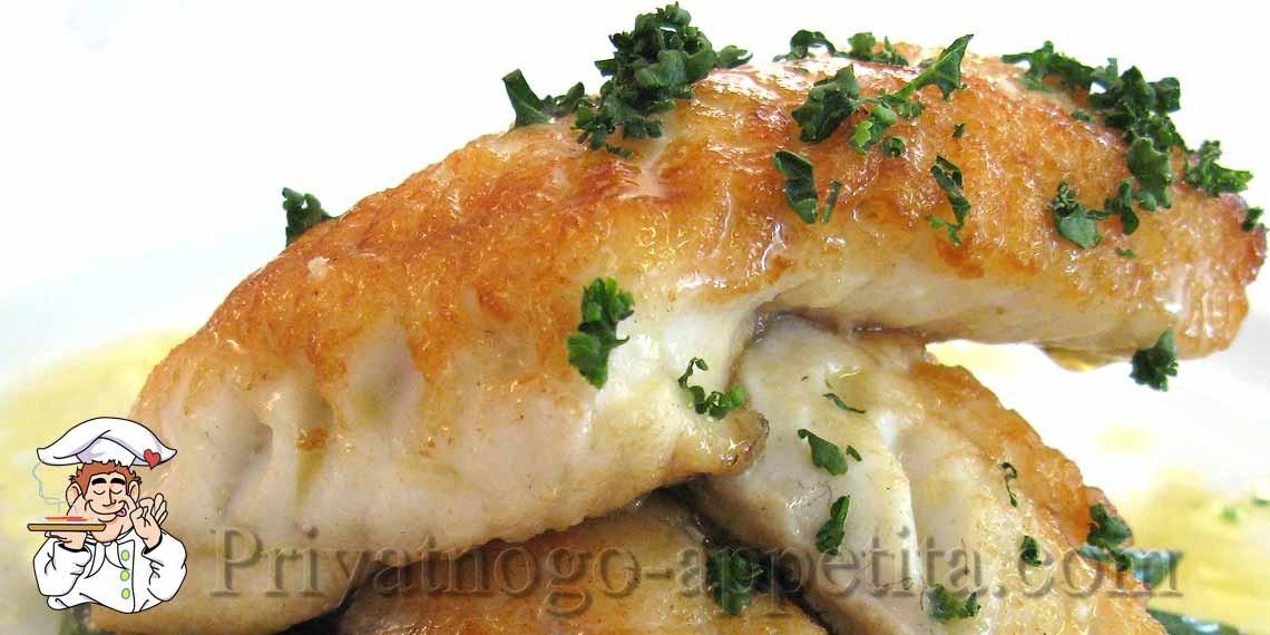 Как вкусно пожарить филе рыбы на сковороде