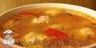 Суп с фрикадельками и мексиканской смесью