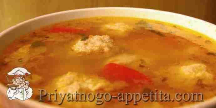 Суп из мексиканской смеси рецепт