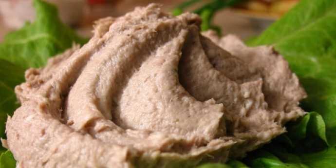 рыбный паштет из консервов рецепт из сайры
