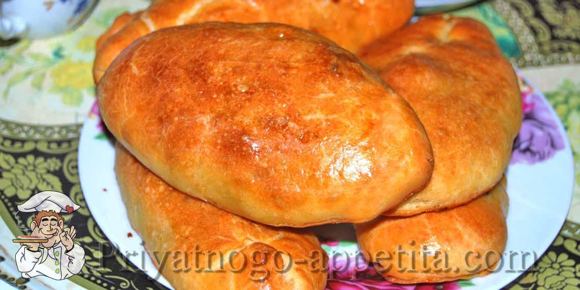 Пирожки с капустой из готового теста в духовке пошаговый рецепт с