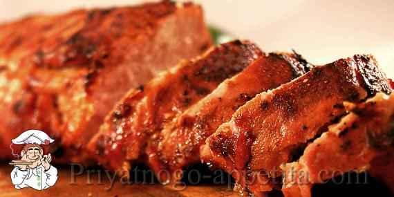 Свиная вырезка рецепты на сковороде с фото