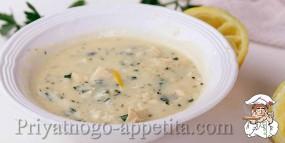 Суп Авголемоно