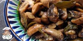 Засолка грибов сухим способом