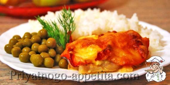 Рыбное филе в духовке
