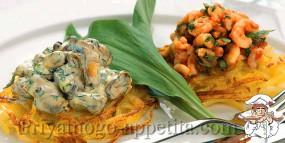 Закуска из морепродуктов