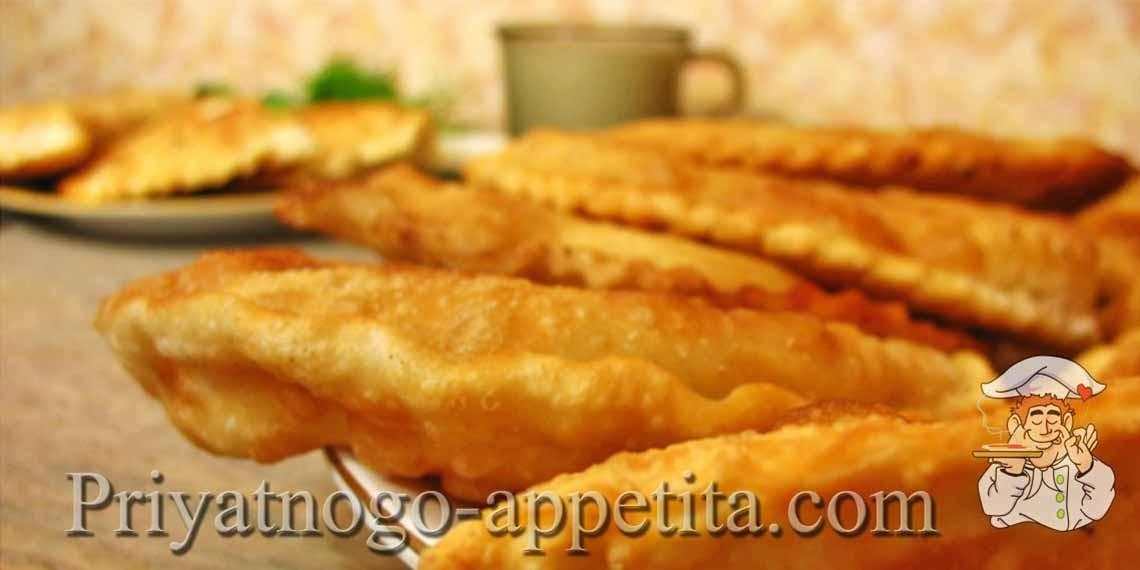 Чебуреки со свининой рецепт с фото на сковороде