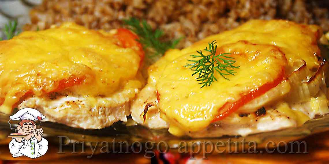Рецепты куриных отбивных с сыром и на сковороде
