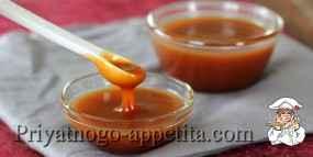 Рецепт приготовления карамели