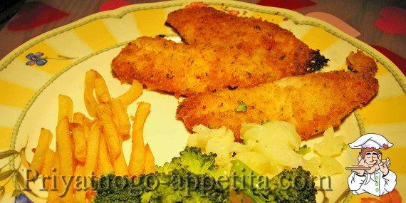 Рыба во фритюре