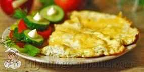 Омлет с сыром