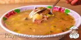 Суп из рыбной консервы