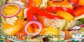 Овощной салат «По-китайски»