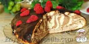 Рецепт пирога «Зебра»