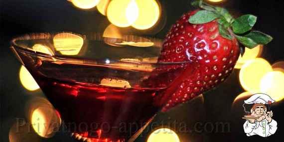 Клубничное вино