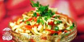 Салат из капусты и морковки
